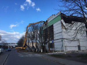 демонтаж сооружения